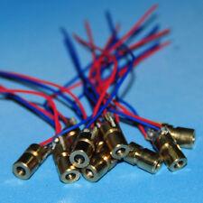 10pcs Laser Diodes 5MW 650nm Diodo RED Dot Laser Diod Circuit 5V Pointer Copper