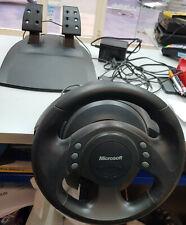 Volante Force Feedback Microsoft SideWinder wheel