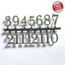 Numbers Quartz Clock Movement  Insert Arabic Numbers For Repair Digital Parts