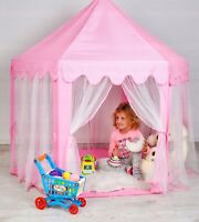 Kinderzelt Spielzelt Spielhaus Schloss Palast Kinder Prinzessin Zelt Mädchen Neu