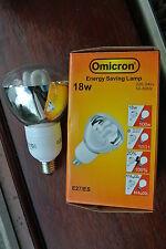 Omnicron R95 Low Energy CFL 18w (100w) Reflector E27 ES clear glass 2700k 8000hr