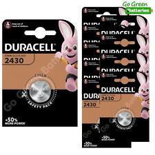 10 x Duracell CR2430 3V Lithium Coin Cell Battery DL2430 K2430L ECR2430