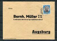 Bedarfsbrief DR Mi.-Nr. 543 EF Lindenberg-Augsburg - b5588