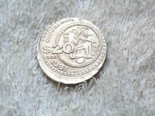 Error Coin 20 Pesos Culture Maya 1981 From Mexico.