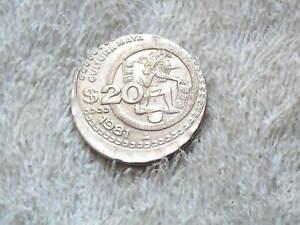 20 PESOS EROR COIN  CULTURE MAYA 1981  FROM MEXICO. R