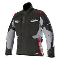 Alpinestars Bogota v2 Drystar Waterproof CE Motorcycle Jacket v2 Black & Grey