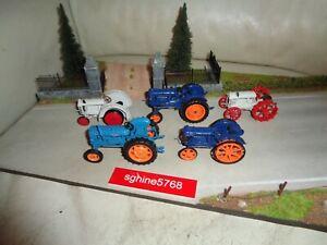 UH Universal Hobbies 1/43 Lot Tracteurs Fordson Power Major / E27N / F - MB