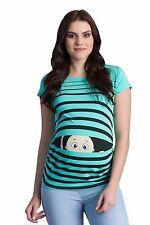 Lustige Umstandsmode T-Shirt Motiv%7c Schwangerschaftsmode Geschenk %7c Peek a Boo