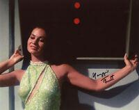 MAGGIE THRETT SIGNED 8x10 PHOTO RUTH MUDD'S WOMEN STAR TREK TOS RARE BECKETT BAS