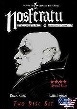 Nosferatu [The Vampyre / Phantom Der Nacht] (2 Disc DVD Set) — Brand New