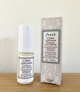 Fresh Creme Ancienne Supreme Face Serum Travel Size 5 ml .16 oz New in Box