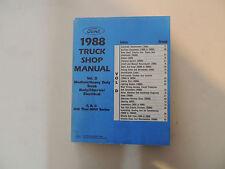 Ford Medium heavy duty truck b c f 600 -8000 series 1988 Workshop Shop manual
