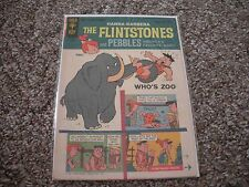 FLINTSTONES #13 Who's Zoo 1970 GOLD KEY VF CONDITION!! RARE!!
