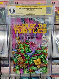 TALES OF THE TEENAGE MUTANT NINJA TURTLES #1 (1987) - CGC GRADE 9.6 - EASTMAN!