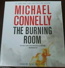 Michael Connelly – The Burning Room– Audio Book 6 CD Set Abridged – Used
