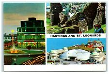 Postcard Hastings and St Leonards Sussex