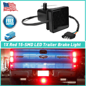 Red 15SMD Super Bright Brake Tail Light for Campers Tow truck Semi Truck Trailer