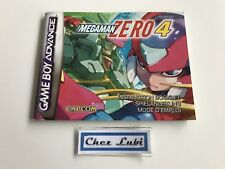 Notice - Megaman Zero 4 - Nintendo Game Boy Advance GBA - PAL EUR