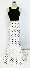 MASQUERADE Black White 2 Pieces Prom Gown 3 - $150 NWT