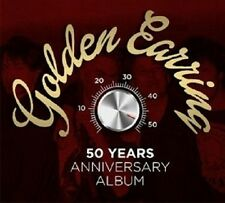 GOLDEN Earring - 50 Years Anniversary album 4 CD + DVD NUOVO