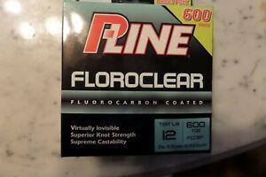 Pline Clear Floroclear Fluorocarbon Fishing  line 12lb 600 yd