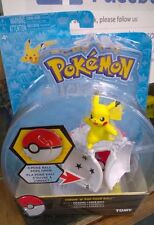 Pokemon Tomy Throw 'N' Pop Poke Ball Pokeball Pikachu Figure Poke  Ball