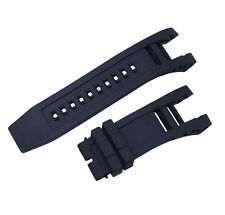 New Black Silicone Rubber Watch Band Strap For Invicta Subaqua Noma IV 6564