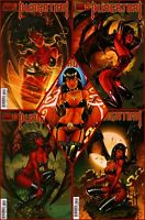 Lot Of 5 PURGATORI 1-5 Complete 1 2 3 4 5 Dynamite Chaos Comics Horror 2014
