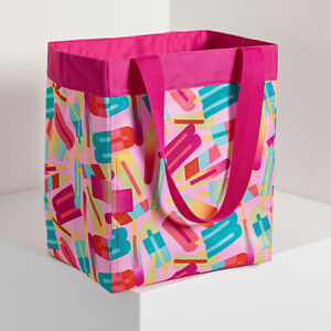 Essential Storage Tote (new) POPSICLE PARTY - BRIGHT COLORED POPSICLES