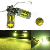 2pcs H3 Yellow High Power 80W 16 SMD LED Car Foglight Light Bulb 12-24V New