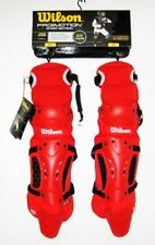 """Wilson ProMotion Intermediate 14"""" Fastpitch Leg Guards w/ Isoblox protection NEW"""