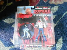 MIP SEALED - DAWN OF THE DEAD ACTION FIGURE - HATHCET HEAD ZOMBIE (S5)
