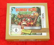 Donkey Kong Country Returns 3D Premium Edition, Nintendo 3DS Spiel, Neu