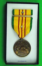 Vietnam War U.S. GI Issue Service Medal set silver Campaign / Battle Star GTC