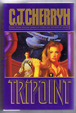 Tripoint by C. J. Cherryh (1994, Hardcover Edition) - Free Shipping!