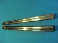 Cornice guida cristallo sx+dx porte posteriori  Lancia Fulvia Berlina
