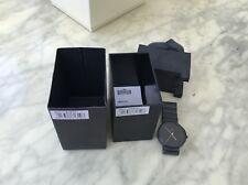 Braun BN0171 black ceramic watch