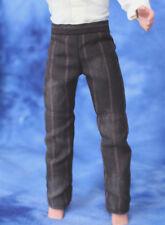 Cowboy Lawman clothes fit 1:6 scale doll Western pants fit Ken Brown stripe