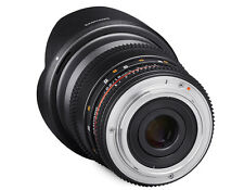 Samyang 16mm T2.2 Cine VDSLR CS II Wide Angle Lens for Canon