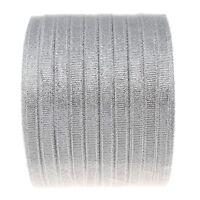 22m Funkeln Band für Organza Schleife Gitzer Schmuckband Silber 6mm BEST C255