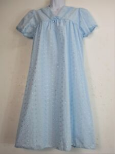BRODERIE ANGLAISE NIGHT DRESS NIGHTY SEVERAL COLOURS SIZE 10-24