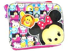 New Disney Tsum Tsum School Lunch Bag Insulated Snack Cooler Box