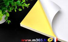Feuille Papier Autocollante A4 Multi usages timbres en ligne (non prédécoupé)