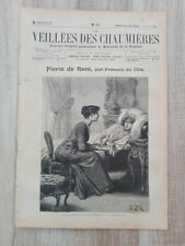Journal illustré 1909  - Veillées des Chaumières - 26 Juin - Fierté de Race...