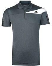 New Mens Adidas Climalite Response Tennis Polo Shirt T-Shirt Top - Grey