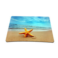 Starfish Beach Anti-Slip Mouse Pad Mice Pad Mat Mousepad For Optical Laser Mouse