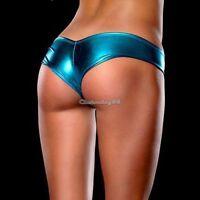 """LOOK METALLIC Shorts Pants Thong Light Blue Magaluf Ibiza Club Buy Now UK STOCK"