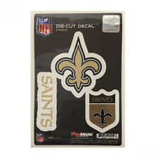 Team ProMark NFL New Orleans Saints Die-Cut Decal Sticker 3-Pack Made in U.S.A
