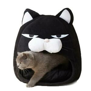 Foldable Cat Bed Cats Cave Soft Sofa Cushion Pet House Warm Kennel Puppy