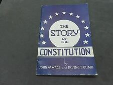 VINTAGE 1935 THE STORY OF THE CONSTITUTION BOOKLET   30 PAGES